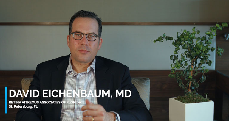 Video of Dr. David Eichenbaum discussing chronic uveitis, treatment, referring patients and comanagement with other uveitis specialists.